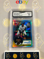 2018 Topps Chrome Didi Gregorius #7 '83 Style Refractor - 10 GEM MINT GMA Graded