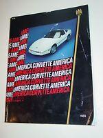 1989 Corvette America Catalog chevy chevrolet vette