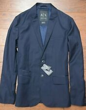 Armani Exchange A|X $200 Men's Navy Blue Sport Coat Blazer Jacket 38