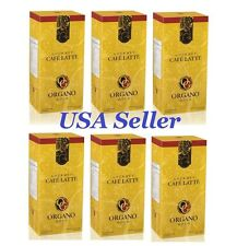 6 Boxes ORGANO GOLD GOURMET CAFE LATTE Clearance Sale - Expiration 8/2017
