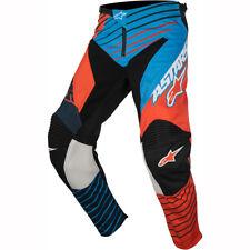 Alpinestars Racer Braap Pants - Black Orange Blue