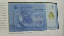 CCY~Premium Set AA000 8999 Rm1 - RM100 Same NO New Malaysia Rare BANKNOTE,UNC,NR