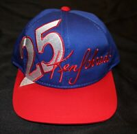 NASCAR Ken Schrader 25 VINTAGE Snapback Hat BUDWEISER King Of Beers
