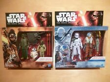 2 X Star Wars The Force Réveille Twin Deluxe Pack ACTION FIGURES