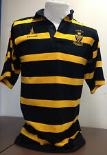 Men's Striped Cotton Loose Fit Rugby Casual Shirts & Tops