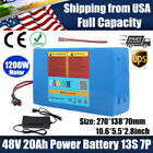 EBike Lithium ion Battery 48V 20AH ≤1200W E Bike Scooter Electric Bicycle Motor