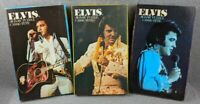Lot of 3 Vintage Elvis Presley 1935-1977 200pc Jigsaw Puzzles Pre-Owned Complete
