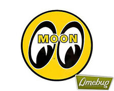 Mooneyes TAPPETINO MOUSE PAD YELLOW Moon VW Hotrod American Camper Beetle ufficio Buggy