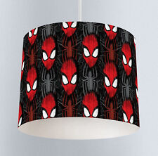 Spiderman (337) Boys Nursery Bedroom Drum Lampshade Light Shade