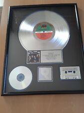 "Crosby Stills Nash and Young - RIAA award platinum record - LP ""American Dream"""