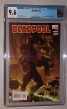 Deadpool #1 (CGC 9.6 White)  2008 Marvel Series   1st print