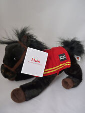 Mike 2016 Wells Fargo Bank Horse Pony Plush Toy Black New With Hang Tag