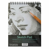 4 x Sketchbook 9 x 12 Inches 100 Sheets Premium Quality Sketch Drawing Paper Pad