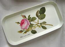 Roy kirkham redoute rose petit mélamine serving sandwich tray 30 x15cm fleur