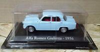 "DIE CAST "" ALFA ROMEO GIULIETTA - 1956 "" SCALA 1/43 RBA AUTO INDIMENTICABILI"