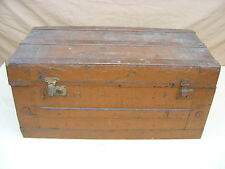 large antique Chest Box Container Steamer trunk, Treasure chest Travel cases
