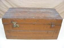 großer alte Truhe Koffer Kiste Überseekoffer, Schatzkiste Reisekoffer