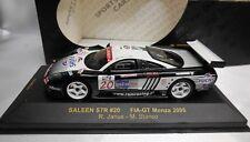 IXO 1/43 SALEEN S7R #20 R. JANUS / M. STANCO FIA-GT MONZA 2005 REF. GTM035