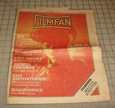 FILMFAN 1978 #1 Amsterdam Copyright Office Serial Division Magazine SOPHIA LOREN