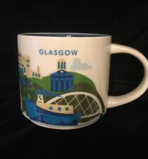 Starbucks Glasgow Mug YAH Scotland UK Bridge Clyde Coffee Cup You Are Here New