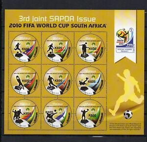 MALAWI, 2021,WORLD CUP,SOCCER,2010, O/P  with new value, K600  S/S,  MNH,NEW!!