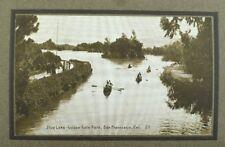 C.1910 Stow Lake, Golden Gate Park, San Francisco, Cal. Vintage Postcard P103