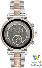 Michael Kors Access Sofie Two Tone Heart Rate Touchscreen Smart Watch MKT5064
