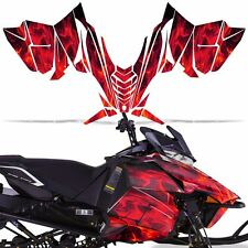 Decal Wrap Graphic Kit Yamaha SR Viper RTX STX MTX Sled Snowmobile 14-16 ICE RED