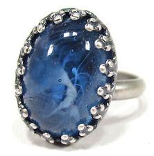 Modeschmuck-Ringe aus Glas und gemischten Metallen