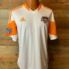 Houston Dynamo Shirt Replica  Jersey Adidas Orange sz Large