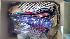 LOT of 20 new stylish NECKTIES DRESS SUIT NECK TIE each in protective plastic