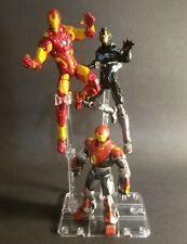 Clear Action Figure Display Stand Base for Figures (Figures not included)