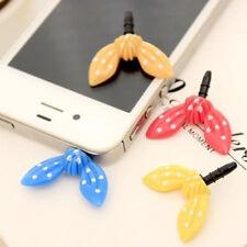 Cute Rabbit Ear Mobile Phone Anti-Dust Plug Cap Earphone Dustproof Stopper 1pc