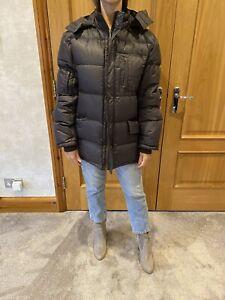 Ugg Ladies Brown Puffer Jacket/M