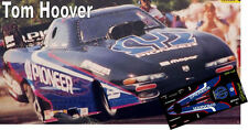 CD_MM_048 Tom Hoover 1998 Dodge Pioneer Avenger Funny Car   1:64 Scale Decals