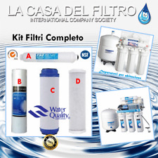 kit Filtri Acqua depuratore osmosi  inversa  - chiave Omaggio x2kit