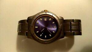 Часы наручные Vintage мужские Titan wr100 CITIZEN Часы JAPAN рабочии Часы кварц