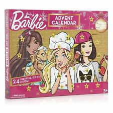 SINCO Christmas Advent Calendar 2019 24 Surprise Gifts Jewellery, Stickers, Hair
