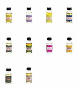 Satya Assorted Fragrance Oil 10 Bottles Pack Total 300 ml