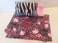 Comforter and Pillow for American Girl & Similar Sized Dolls Hello Kitty