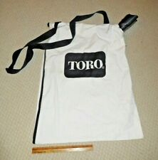 Toro Leaf Blower Vacuum/Canvas Bag - New - NR!
