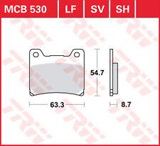 TRW Lucas Bremsbeläge MCB530 hinten Yamaha BT 1100