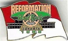 Hard Rock Cafe JAKARTA 1998 Reformation Flag PEACE PIN - HRC Catalog #3771