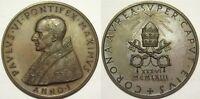 Vaticano medaglia papa Paolo VI elezione a pontefice 1963