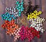 SALE New *USA Women Bubble Bib Statement Fashion Chain Necklace Multi Color Pink