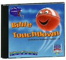 Bible Touchdown Software Windows CD-ROM Football - Bible Trivia NEW - FREE S/H