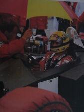 Poster Marlboro McLaren F1 Team Ayrton Senna (BRA)