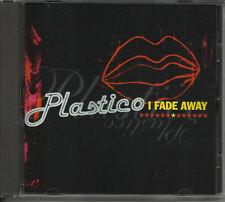 PLASTICO I fade Away w/ RARE RADIO VERSION PROMO DJ CD single 1998