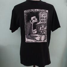Vintage Bad Bob 1991 Robert Therrien Caffeine Coffee Drug T-shirt 90's Pop Art