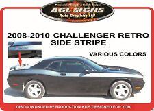 DODGE CHALLENGER  RETRO STRIPE  GRAPHIC  2008 2009 2010  reproduction